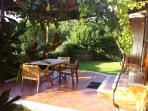 Self-catering cottage Cedro with terrasse and lake view near Rome