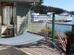 3. Mariner's Dream Cottage - In Orcas Village, convenient yet private.  Large deck with hammock.
