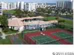 Tennis courts, club house