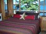 2.  Isle Dream Cottage - Bed-in-Window.  Forever views of East Sound and waters beyond.