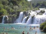Krka National Park (less than an hour from the apartment)