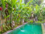 Come and relax at Merta House in the jungle/mountain area. Experience life in a Bali village
