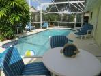 Dine by the pool!