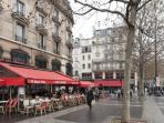 brasseries coffee on the bastille place 2 minutes walking distance