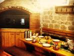 Traditional Dalmatian tavern called 'konoba' where we serve breakfast or dinner to our guests :)
