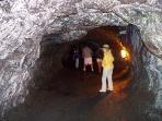 Thurston Lava Tube at National Volcanoes Park.