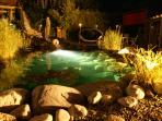Gartenanlage: Teich