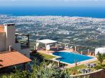 It is hard to describe the feeling of staying 600 meters over the city of Chania