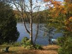 Brochet lake on summer