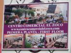 'El Zoco' only 10 mins walk from the apartment, featuring open air courtyard style dining