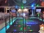pool dance floor