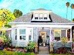 nearby Redlands home with cats by GretchenArt