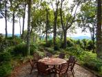 Breakfast By the Pool at Riverbend Byron Hinterland Retreat
