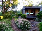 Chilling out on the Deck is the place to be at Riverbend Byron Hinterland Retreat