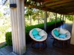 Our favorite paspan Chairs to relax in at Riverbend