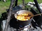 rustic traditional pot