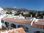 Mountain view from roof terrace