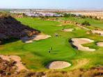 18 hole golf course les than 5 mins away