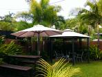 Bar and gazebo areas in your own private tropical gardens