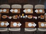 gezamenlijk ontbijten (incl. in kamerprijs)