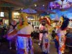 The world famous Junkanoo, at Paradise Island's MargaritaVile. Every friday and Sat night at 8:30pm