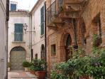 the antique streets on Catignano