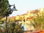 Views through the resort
