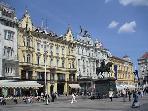 Main square Zagreb- 10 minutes walk fro