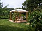 FIENILE Gazebo with table and chairs for outdoor living Surface 10 sqm