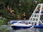 The Wakeboarding lake - fantastic fun for everyone !