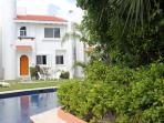Casa Selva Caribe - with the pool right by the front door and a secluded terrace at the rear