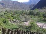 The view from the house down over our beautiful  Bevera valley.
