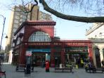 Gloucester Road Tube Station (4 minutes walk from flat)
