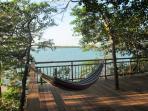 Private terrace overlooks Cholón´s Bay.