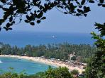 The perfect hideaway by the sea,in a 2 acre paradise,overlooking Unawatuna Bay