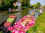 hortillonnages Amiens (23 kms)