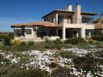 The villa in flower season