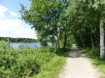 Spaziergang am Naturbadesee 'Ottermeer' in Wiesmoor