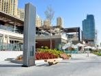 'The fantastic new JBR walk , Al bateen  in the background right on JBR walk'