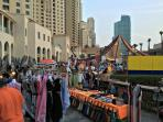 'Saturday street vendors JBR'