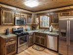 Brand new, fully equipped kitchen