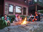 Firepit is great for marshmallows