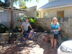 Take the house bikes out for a ride around Freo