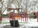 St Matthew's piece playpark-2 minutes walk ,2 separate playparks