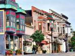 Historic Victorian downtown Pacific Grove. Art Galleries, Award Wining Restaurants and One-of-a Kind Shopping!
