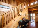 Kozy Getaway is decorated to make you feel right at home in the smokies!