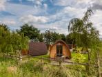 Family Camping Pod, sleeps 2 adults and 3 children