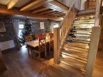 Stunning open plan living/dinning/kitchen