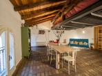 OPERA PRIMA  - a 2-level attic-like apartment - accommodates up to 6/7 guests.
