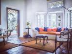 Saffron Room Lounge area